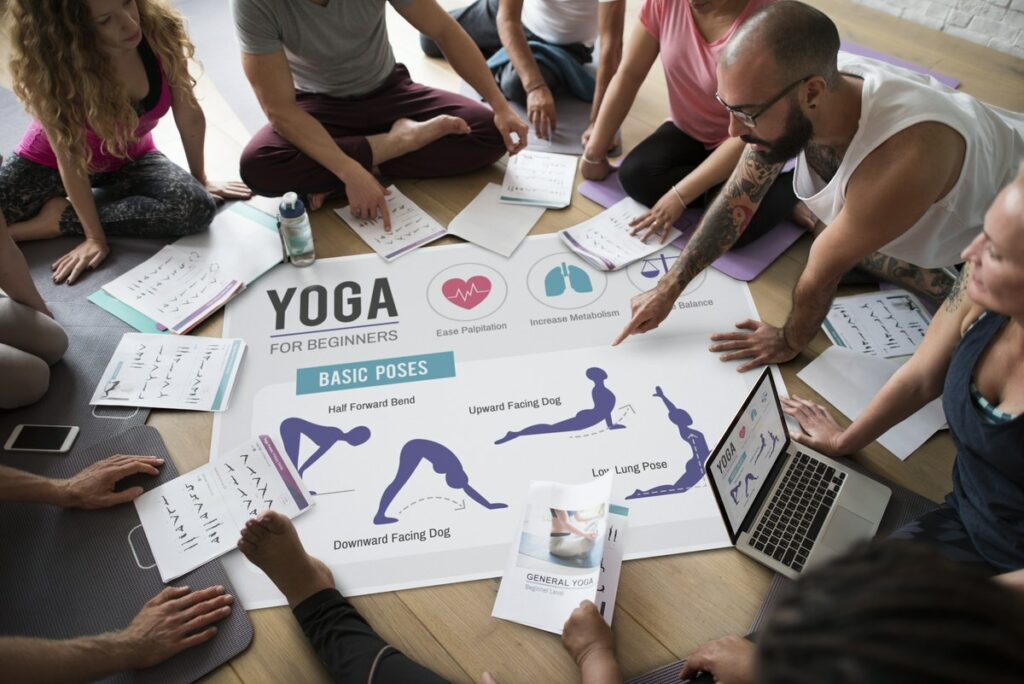 Yoga Activity in Workplace Setting